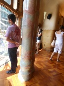 13 Shimmering pillars