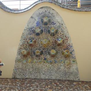 2 Tile wall 'sculpture'